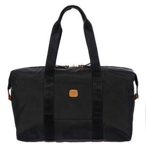 "Bric's X-Bag 18"" Folding Duffle Bag in Black"